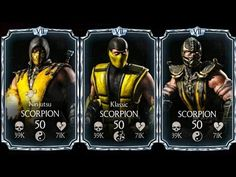 Scorpions Diamond Team Mortal Kombat X Mobile Gameplay MG Mortal Kombat X Mobile DIAMOND SCORPIONS TEAM Gameplay @Movieripe #Movieripe https://www.Movieripe.com Movieripe Games