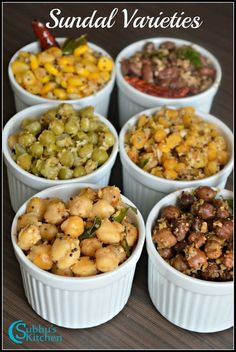 Sundals are an integral part of Navratri celebrations.Every evening, after we light the lamps, any one kind of sundal is offered as neivedhiyam. Sprout Recipes, Veg Recipes, Indian Food Recipes, Salad Recipes, Vegetarian Recipes, Cooking Recipes, Healthy Recipes, Sundal Recipe, Chaat Recipe