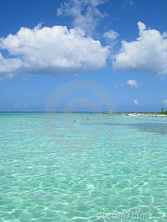 Grand Cayman - Rum Point - classic Caribbean sea and sky, the most beautiful beach I've ever been to