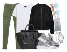 """""""Céline , Alygne and Nike"""" by camimi1d ❤ liked on Polyvore featuring Zara, MANGO, Alygne, Asprey, NIKE, Christian Dior, Cartier and Marc by Marc Jacobs"""