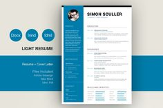 Cv Template by sz81 on @creativemarket