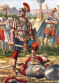 Titus Manlius Torquatus by Tancredi Scarpelli