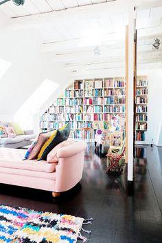 Inside a Colorful Family Home in Copenhagen--via Domaine Home