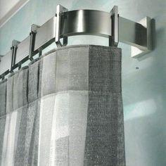 Window treatments, curtain poles and tie backs