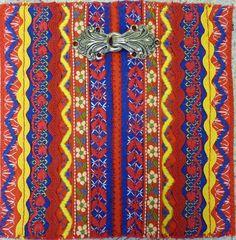 ¿Quién hace este tipo de magnífica obra? Los sami del norte de Noruega, Finlandia, etc (lo que a veces llaman a Laponia o Laponia). ¡Qué maravilloso es usar ropa sólo brillantes y alegres en el intenso ambiente frío!
