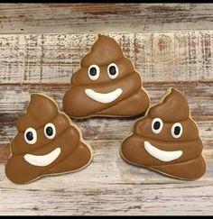 emoji poop cookie - Google Search