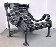 industrial furniture | Industrial Art Furniture - Weighty Designs Reclaimed Steel by Stig ...