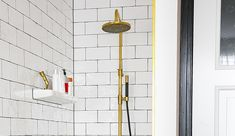 Afbeeldingsresultaat voor mat gouden douche