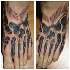 tattoo on pinterest skull tattoos tattoo artists and evil tattoos. Black Bedroom Furniture Sets. Home Design Ideas