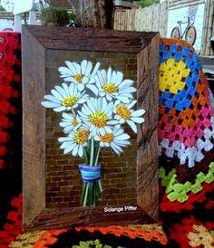 Mosaic Diy, Mosaic Garden, Mosaic Crafts, Mosaic Projects, Mosaic Glass, Mosaic Tiles, Broken Glass Art, Homemade Art, Mosaic Artwork