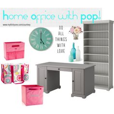 Home Office with Thirty-One by Courtney Hawkins