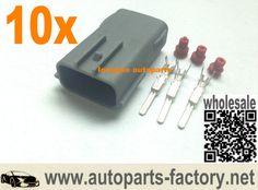 longyue 10pcs 3P EVO 4-10 Coil Connector Kit RX8 harness repair plugs
