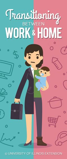 Tips for Parents: Transitioning Between Work & Home