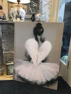 Ballerina Angel Wings Art