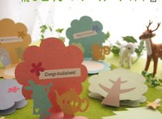 ★お教室で作ったカードたち | ハンドメイドカードR*piece(れいんぼーぴーす)*手作りの飛び出すカードのお店