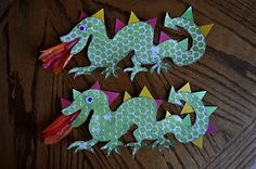 I HEART CRAFTY THINGS: d is for Dragons