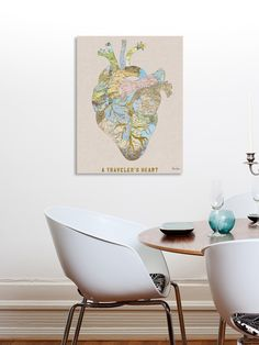 A Traveler's Heart by Bianca Green (Canvas) by Curioos at Gilt