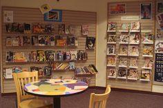 YA Space - manga & magazines, Farmington CT | by informationgoddess29 The Expanse, Connecticut, Magazines, Teen, Manga, Space, Ideas, Home Decor, Display
