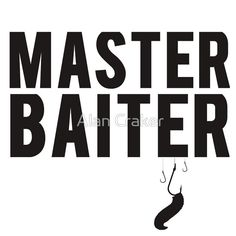 #Fishing #Master #Baiter Funny Tshirt. Please #ReTweet & #RePin!