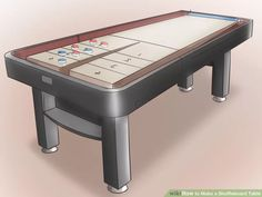 How To Build A Ricochet Game Table | Game Tables, Game Boards And Gaming