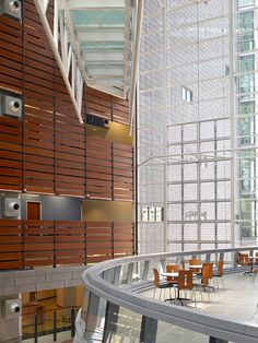 The Crawley C.A.R.E. Medical Sciences Building at the University of Cincinnati designed by Studios Architecture