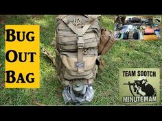 Bug Out Bag Set up Be prepared - YouTube