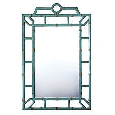 bungalow mirror from Serena and Lily