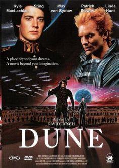 Dune es una película de ciencia ficción estadounidense rodada en el año 1984 y dirigida por el cineasta David Lynch; basada en la famosa novela de Frank Herbert, que fue protagonizada por Kyle MacLachlan, Silvana Mangano, Brad Dourif y José Ferrer, entre otros. La producción estuvo a cargo de Dino y Raffaella de Laurentiis.