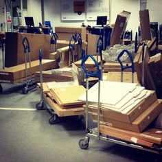 Each trolley represents the end of a relationship #classic - As pointed out by garethjones @gj