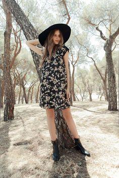 Imaginamos el otoño con la nueva tendencia boho floral. © Azahara Fernández.