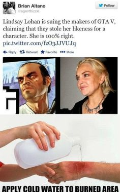 Lindsay Sues Gta V - www.meme-lol.com