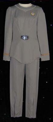 Star Trek Prop, Costume & Auction Authority: Lt. Ilia Starfleet Class A Uniform from Star Trek: The Motion Picture