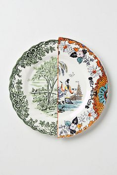 anthropologie has lost their mind. unlikely symmetry plate? bahaha
