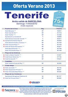 Hasta 75% hoteles en Tenerife, salida 11 Agosto desde Barcelona - http://zocotours.com/hasta-75-hoteles-en-tenerife-salida-11-agosto-desde-barcelona/