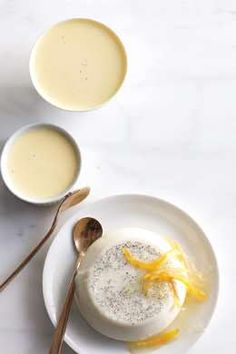 with Lemon Marmalade // so many ways you could top the panna cotta ...