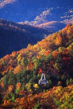 DONE: GATLINBURG, been right here! Look at the view!