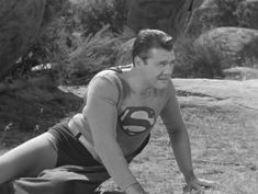 George Reeves in the Adventures of Superman 1952