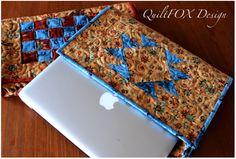 Laptop Sleeve - Pouch - adjustable size via Craftsy