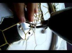 Resultado de imagem para bordado a maquina richelieu em pano de prato