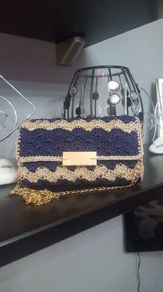 Crochet clutch Crochet Clutch, Handmade Bags, Shells, Gucci, Shoulder Bag, Blue, Conch Shells, Handmade Handbags, Seashells