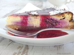 Brombeer-Cheesecake