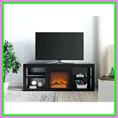 54 Reference Of Lumina Fireplace Tv Stand Black Oak In 2020