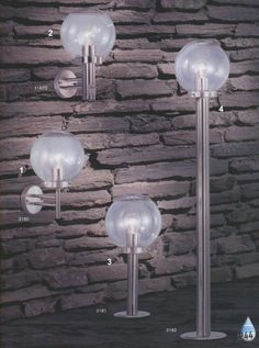 Svietidlá.com - Globo - Bowle II - Záhradné svietidlá - Moderné - svetlá, osvetlenie, lampy, žiarovky, lustre, LED
