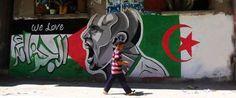 Au Mondial 2014, la Palestine soutient lAlgérie (VIDÉOS)