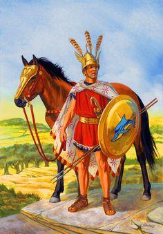 Southern Italian mercenary horseman, Gallic War