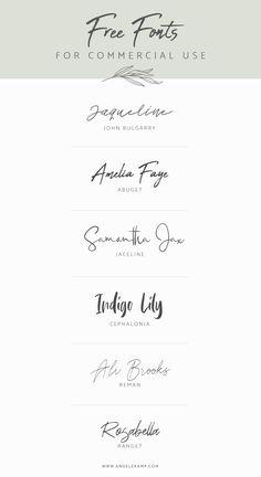 Free Font Design, Web Design, Booklet Design, Design Layouts, Brochure Design, Graphic Design, Logo Design, Brush Script Font, Boho Fonts