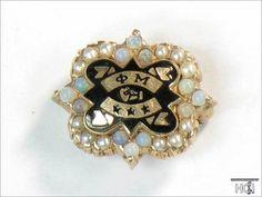 phi mu badge so... Phi Mu Badge Pearl