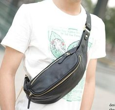 47.47$  Watch here - http://aliujk.worldwells.pw/go.php?t=32625583494 - Free shipping  2016 Fashion Crazy Horse Chest Pack Male Korean Men's Casual Bag Diagonal Bag Man Bag Large Capacity leisure