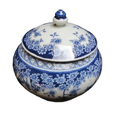 The color of this jar is the classic blue and white which is first used in the Yuan Dynasty and gradually became prevalent in the world. The porcelain is from the world's most famous porcelain city, J