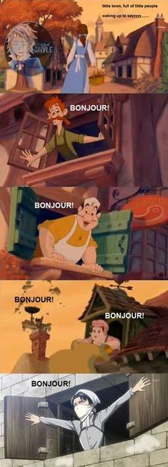 lol...I didn't notice him in Beauty and the Beast XD